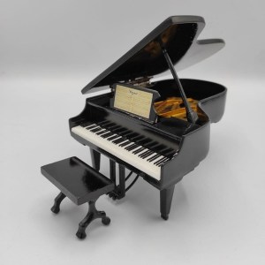 Mini Pianoforte a coda Replica Mod. Black