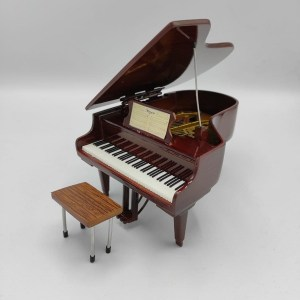 Mini Pianoforte a coda Replica Mod. Brown