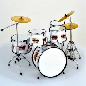Mini batteria da collezione replica mod. Queen Crown Theme
